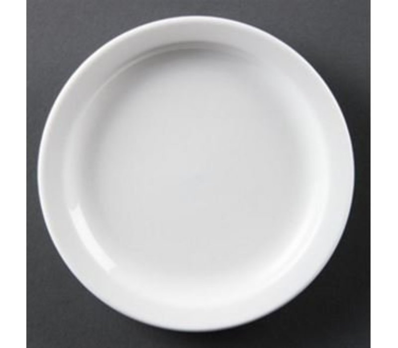 Olympia Board Narrow Edge | Olympia White Porcelain | 180mm | 12 pieces
