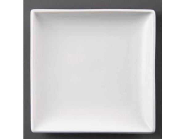 Olympia Board Square | Olympia White Porcelain | 250mm | 4 pieces