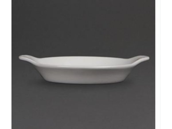 Olympia gratin dish | Olympia White Porcelain | Ø160mm | 6 pieces