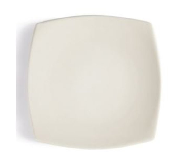 Olympia Ivory Plate Completed | Durable porcelain | 240mm | 12 pieces