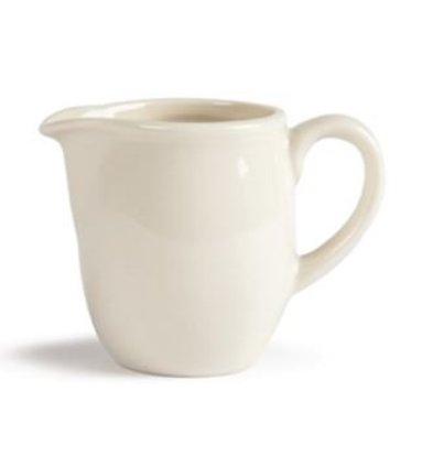 Olympia Ivory Melkkannetje | Durable porcelain | 90ml | 6 pieces