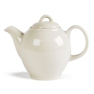 XXLselect Ivory Teekanne | Durable Porzellan | 750ml | 4 Stück