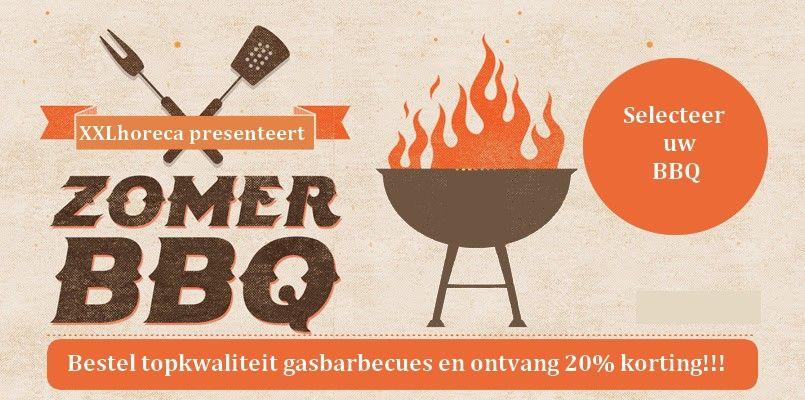 Deze zomer weer 'sappige' XXL kortingen op al onze gasbarbecues!!