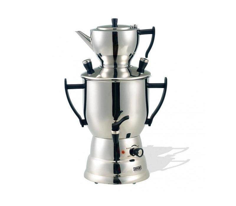 xxlselect beem samovar trendy teamaker 2017 maker kettle stainless steel 3 litre. Black Bedroom Furniture Sets. Home Design Ideas