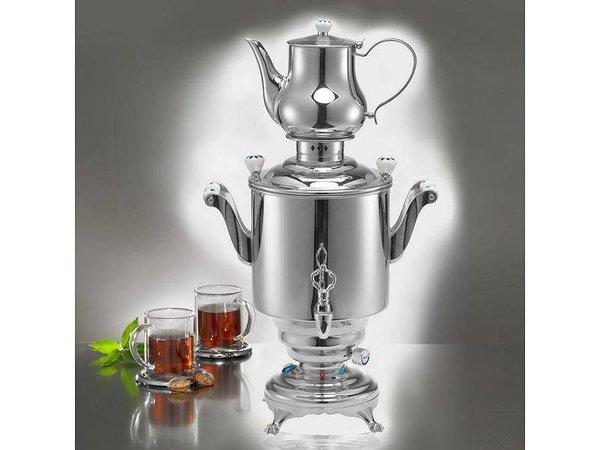 XXLselect BEEM Trendy Samovar Romanov - Hersteller / Kettle - Edelstahl - 5 Liter