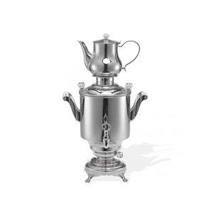 XXLselect BEEM Trendy Samovar Romanov - maker / Kettle - Stainless Steel - 5 Litre