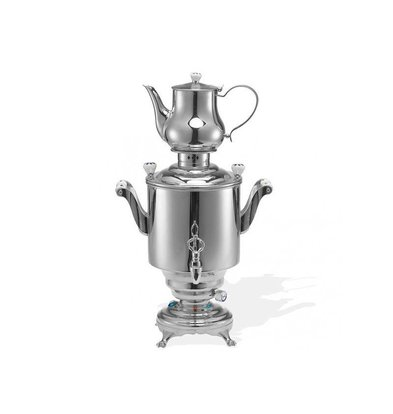 XXLselect BEEM Trendy Samovar Romanov - maker / Kettle - Stainless Steel - 5 Litre