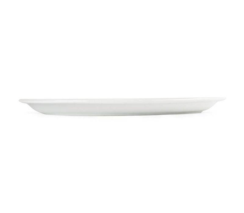 Olympia Ovale Schaal | Olympia Wit Porselein | 200mm | 6 Stuks