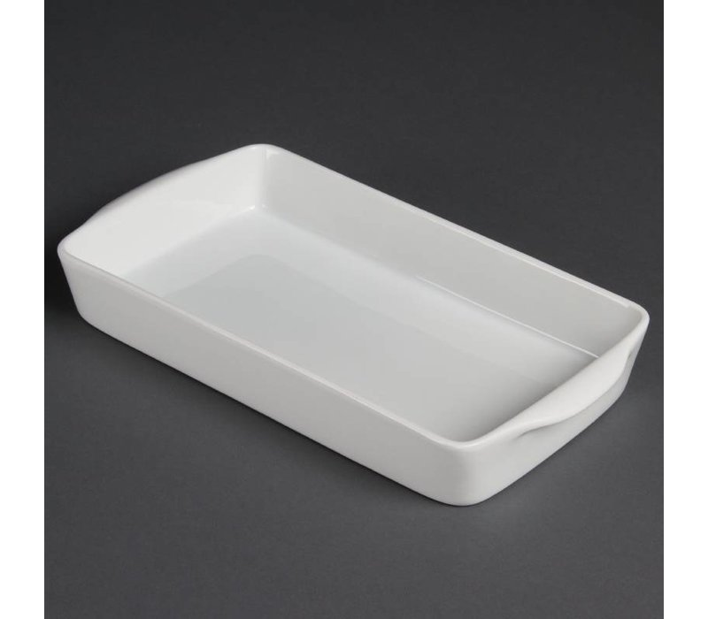 Olympia Oven dish Rectangle | Olympia White Porcelain | 305mm | 6 pieces
