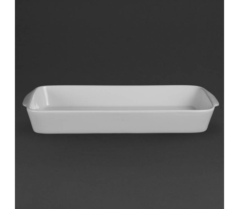 Olympia Ovenschaal Rechthoek | Olympia Wit Porselein | 390x215mm | 6 Stuks