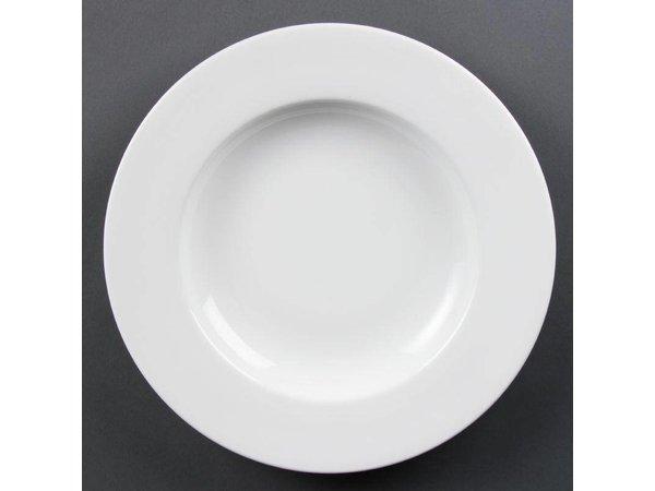 Olympia Pastabord | Olympia Wit Porselein | 310mm | 4 Stuks