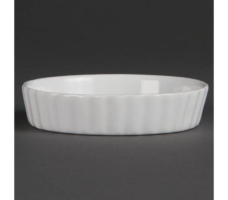Olympia Puddingschaal | Wit Porselein | Ø110mm | 6 Stuks