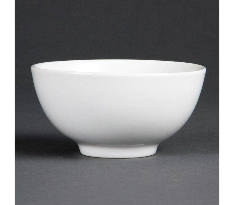 Olympia Rijstkom | Olympia Wit Porselein | Ø130mm | 12 Stuks