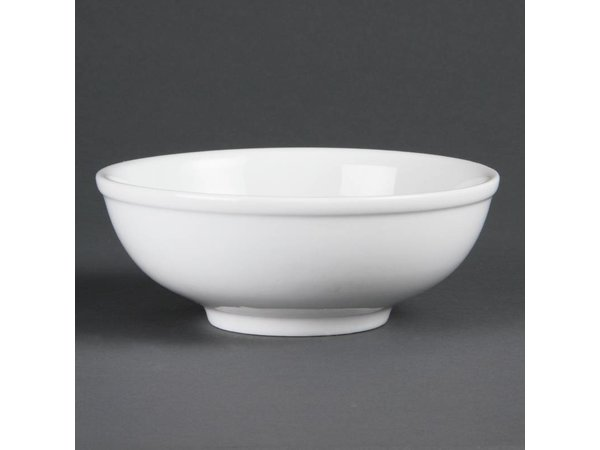 Olympia Noodlekom | Olympia Wit Porselein | 190mm | 6 Stuks