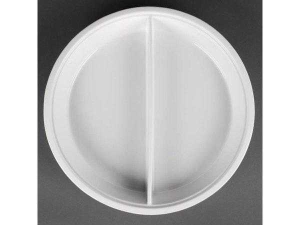 Olympia Verdeeld Bord | Olympia Wit Porselein | 383x65mm