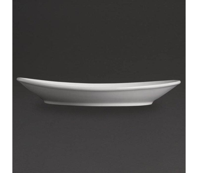 Olympia Steakbord | Olympia Wit Porselein | 310mm | 6 Stuks