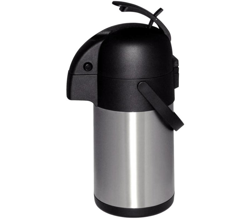 Olympia Pompkan RVS | Drukmechanisme | 2,5 Liter