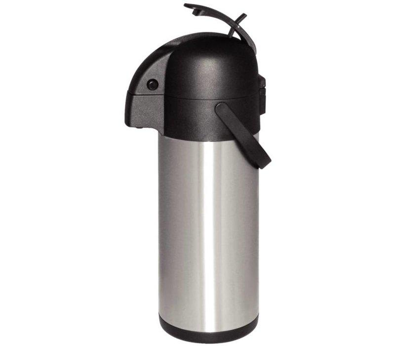 Olympia Pompkan RVS | Drukmechanisme | 4 Liter