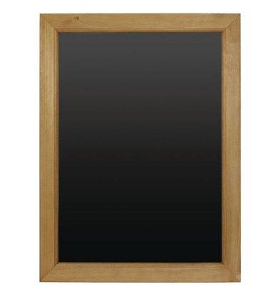 XXLselect Krijtbord + Houten Lijst | 450x600mm