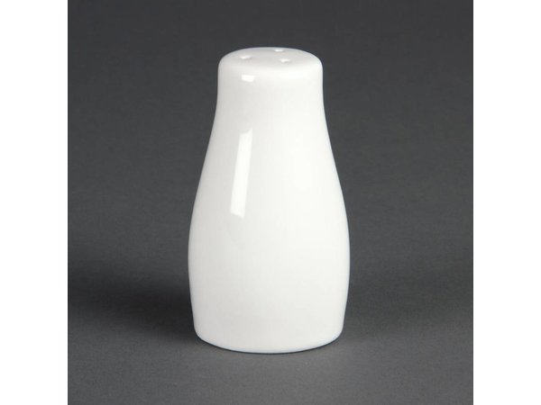 Olympia  Zoutvaatje | Wit Porselein | 95mm | 12 Stuks