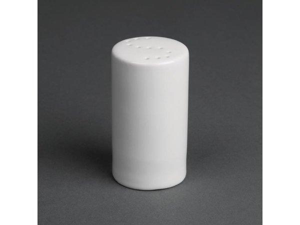 Olympia  Zoutvaatje | Wit Porselein | 80mm | 12 Stuks