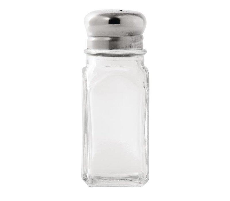XXLselect Peper en zout Stel | Nostalgisch | 40x40x100(h)mm | 12 Stuks