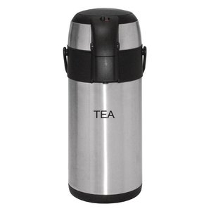 XXLselect Stainless steel with pump | TEA | 3 liter
