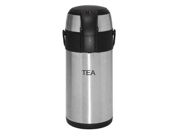 Olympia Edelstahl mit Pumpe | TEA | 3 Liter
