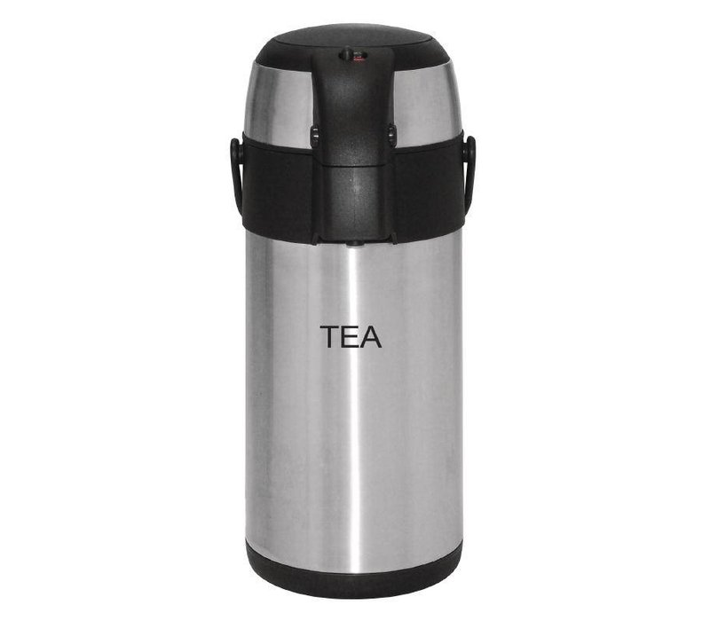 Olympia Stainless steel with pump | TEA | 3 liter