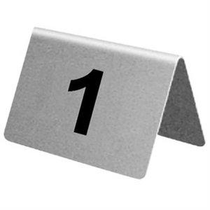 XXLselect Tafelnummers RVS | 1-10