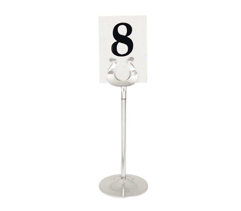XXLselect Tafelnummer Houder RVS | 100mm