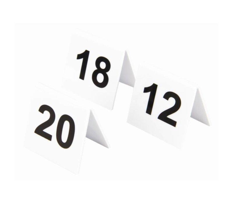XXLselect Tafelnummers Kunststof | 11-20