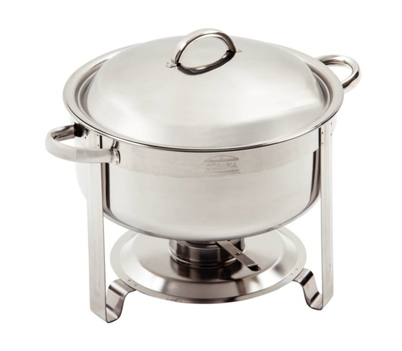 Olympia Vienna Chafing Dish | RVS | 7,5 Liter