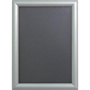 XXLselect Menulijst A4 Formaat | Silver Aluminium