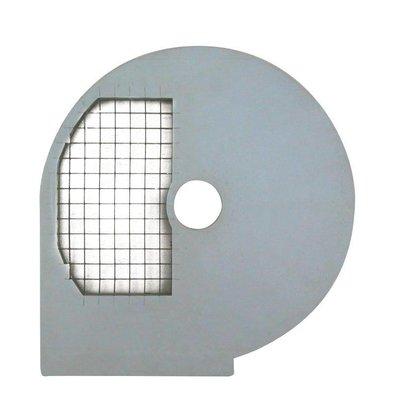 Resto Italia Blokjesschijf 10mm | Resto Italia | Voor Groentesnijder GL950