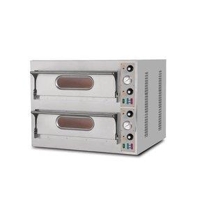 Resto Italia Pizza Oven 2 Kamers | Resto Italia | 980x930x750(h)mm