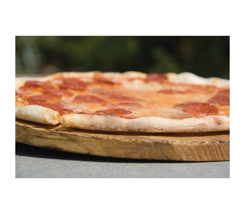 XXLselect Pizza Plank | Eikenhout | Ø300mm