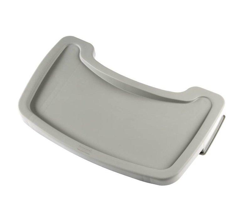 Rubbermaid Dienblad Platinum | voor Rubbermaid Kinderstoel