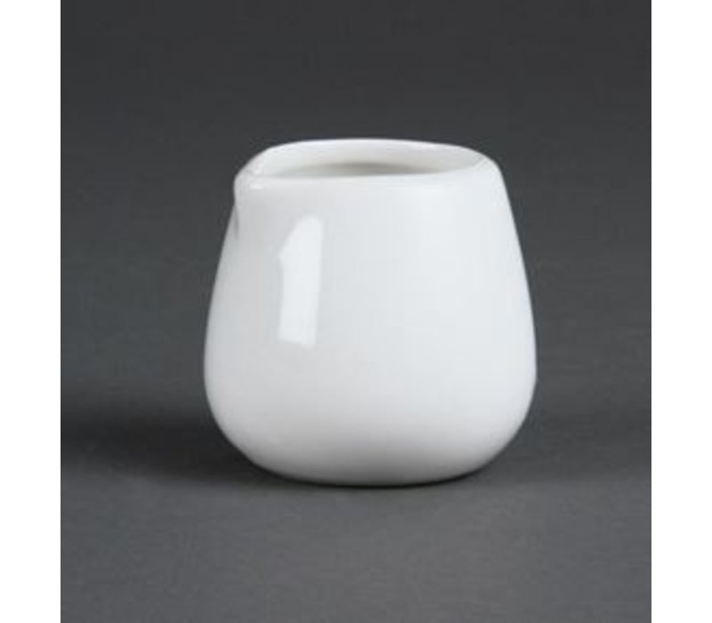 Olympia milk jug   Olympia White Porcelain   90ml   12 pieces