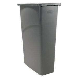 Rubbermaid Slim Jim Container | Grijs | 87 Liter