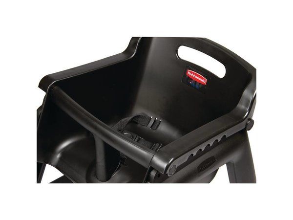 Rubbermaid Kinderstoel Zwart | Rubbermaid | Zithoogte 53cm