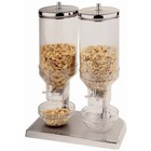 XXLselect Cornflakes Dispenser | Kunststof | 2x 4,5 Liter
