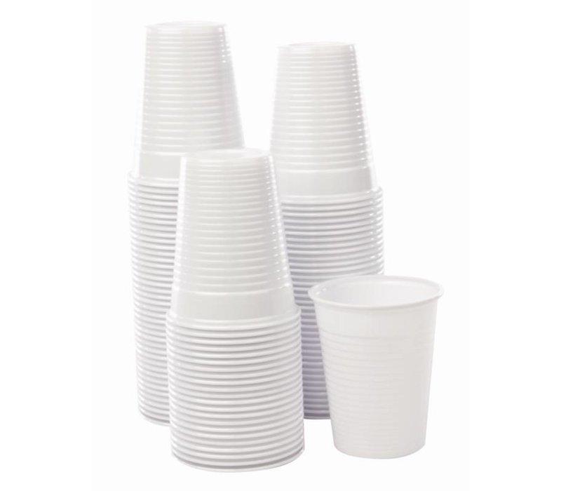 XXLselect Disposable Waterglazen Wit | 180ml | Per 2000 Stuks