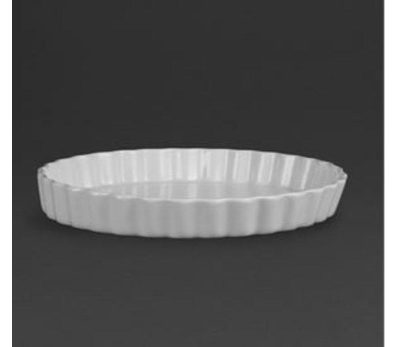 Olympia Pudding-Schüssel | Weißes Porzellan | Ø285mm | 6 Stück