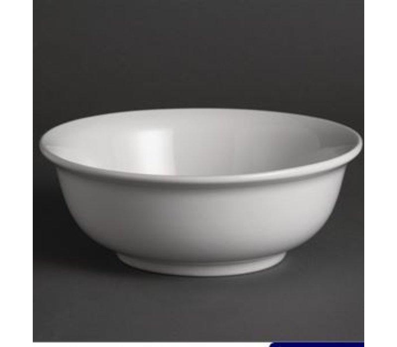 Olympia Salatschüssel | Olympia Weißes Porzellan | 220mm | 6 Stück