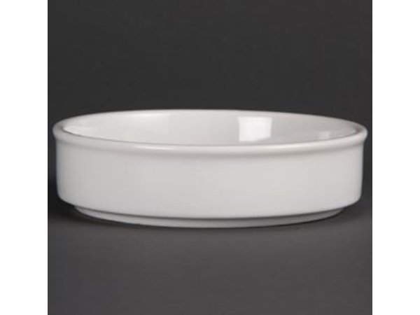 Olympia Scale Stackable | Olympia White Porcelain | 134x30mm | 6 pieces