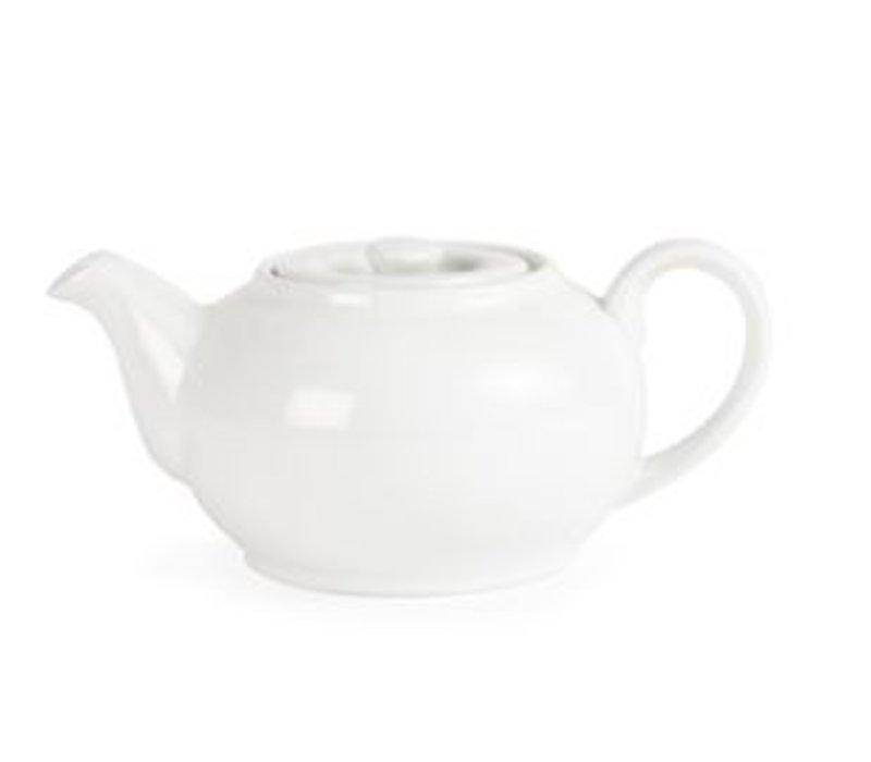 Olympia teapot | Olympia White Porcelain | 850ml | 4 pieces