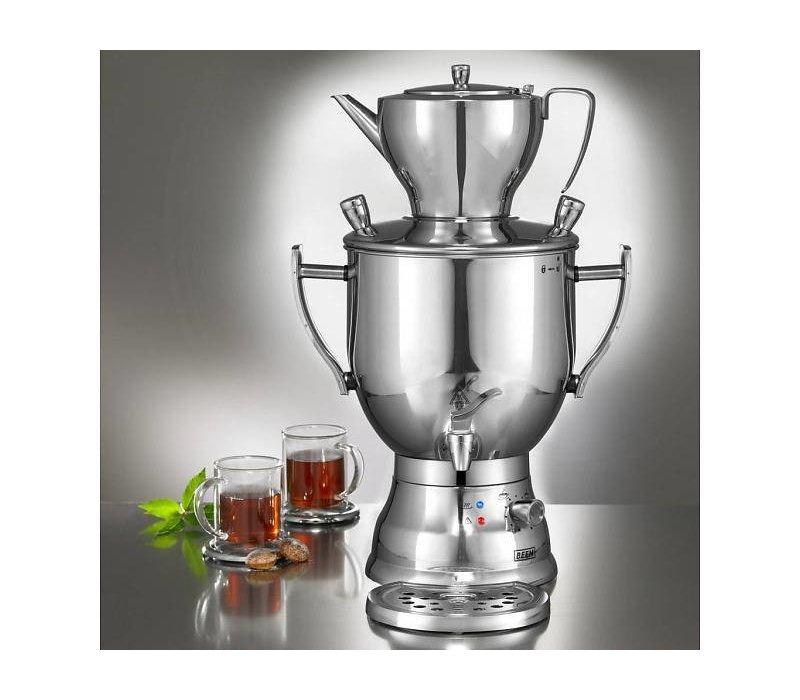 XXLselect BEEM Samovar Trendy 3006C - maker / Kettle - stainless steel - chromium - 6 Liter