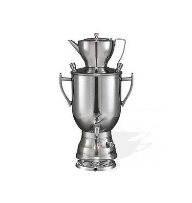 XXLselect BEEM Samovar Trendy 3008C - Hersteller / Kettle - Edelstahl - Chrom - 8 Liter
