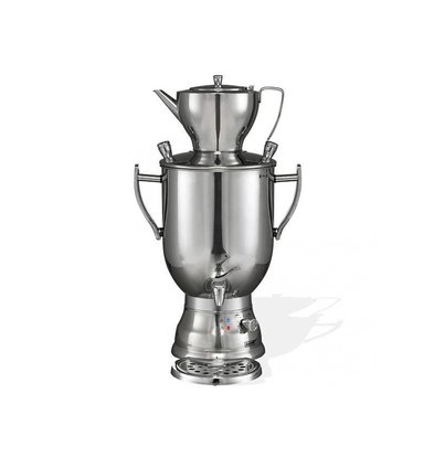 XXLselect BEEM Samovar Trendy 3008C - maker / Kettle - Stainless Steel - Chrome - 8 Litres